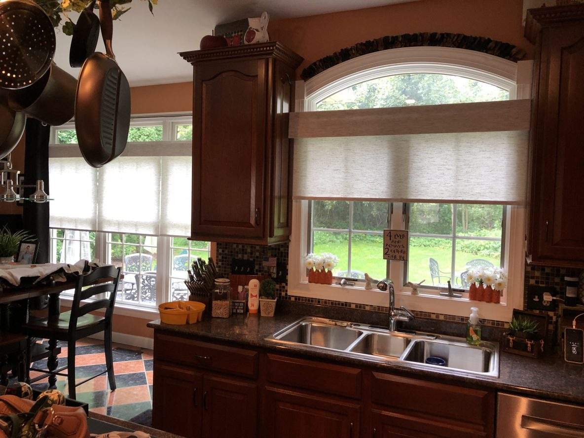 Home Roller Shades Window Treatments in the Lehigh Valley
