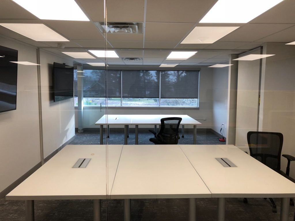 Office In Bethlehem, Pennsylvania Enhanced With Roller Shades - Roller Shades in Stroudsburg, Pennsylvania, the Poconos, Lehigh Valley and Beyond 2