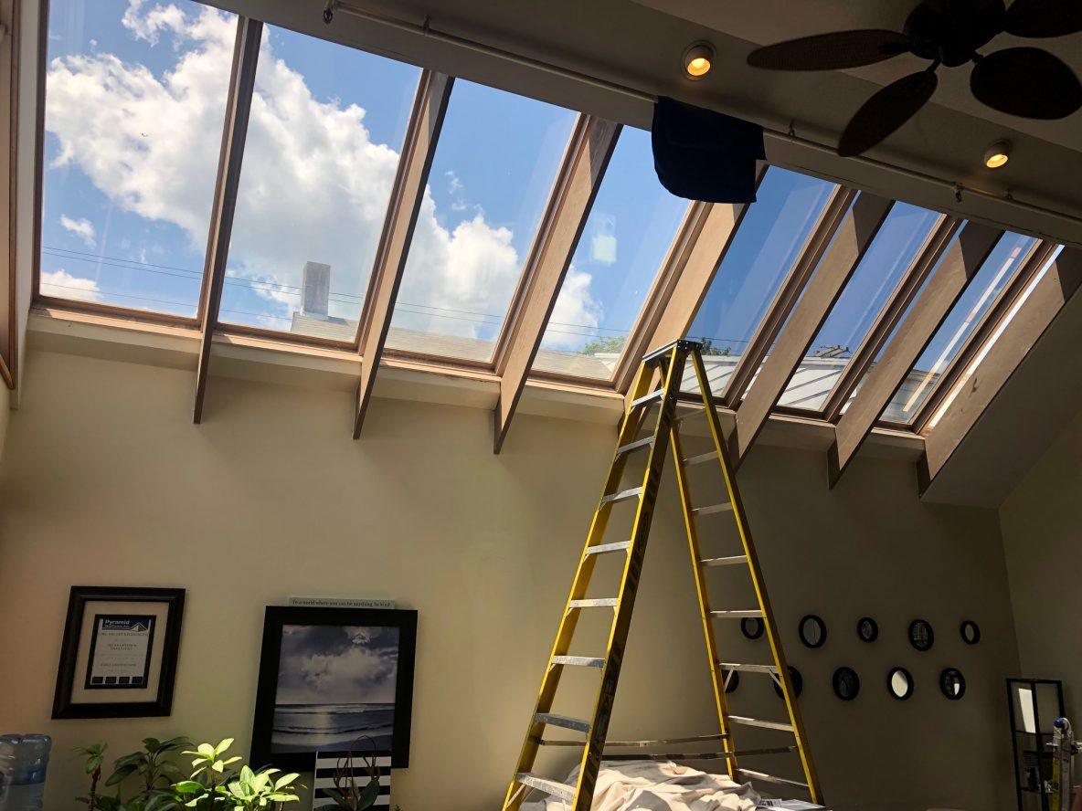Solar Control Window Film Cures Skylight Woes at Healthcare Company - Commercial Solar Control Window Film Installation in Stroudsburg, Pennsylvania, the Poconos, Lehigh Valley and Beyond 2